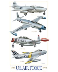 U.S. Air Force Fighters 1945-1953