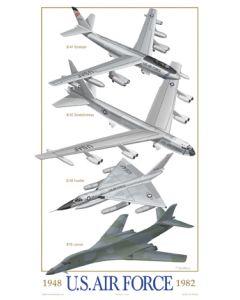 U.S. Air Force Bombers 1948-1982