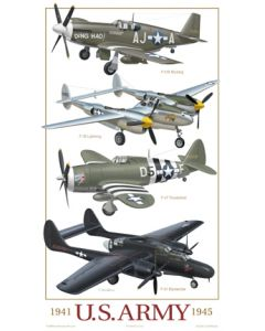 U.S. Army Fighters 1941-1945