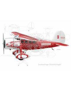 """Lockheed Vega """"Stanavo Eagle"""""""