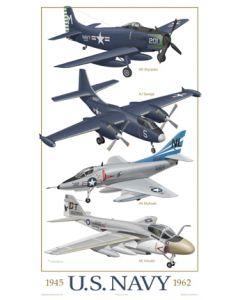 U.S. Navy Attack Aircraft 1945-1962