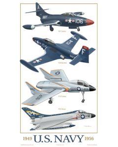 U.S. Navy fighters 1949-1956