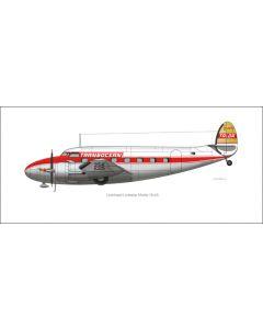 Transocean Airlines  Lodestar Profile Print