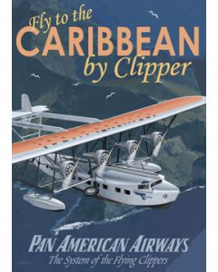 Pan Am Caribbean Poster